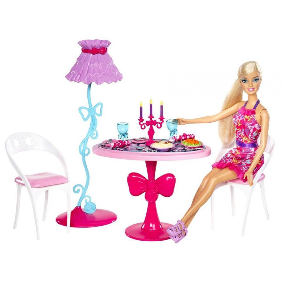Barbie Panenka a nábytek - Jídelní stůl