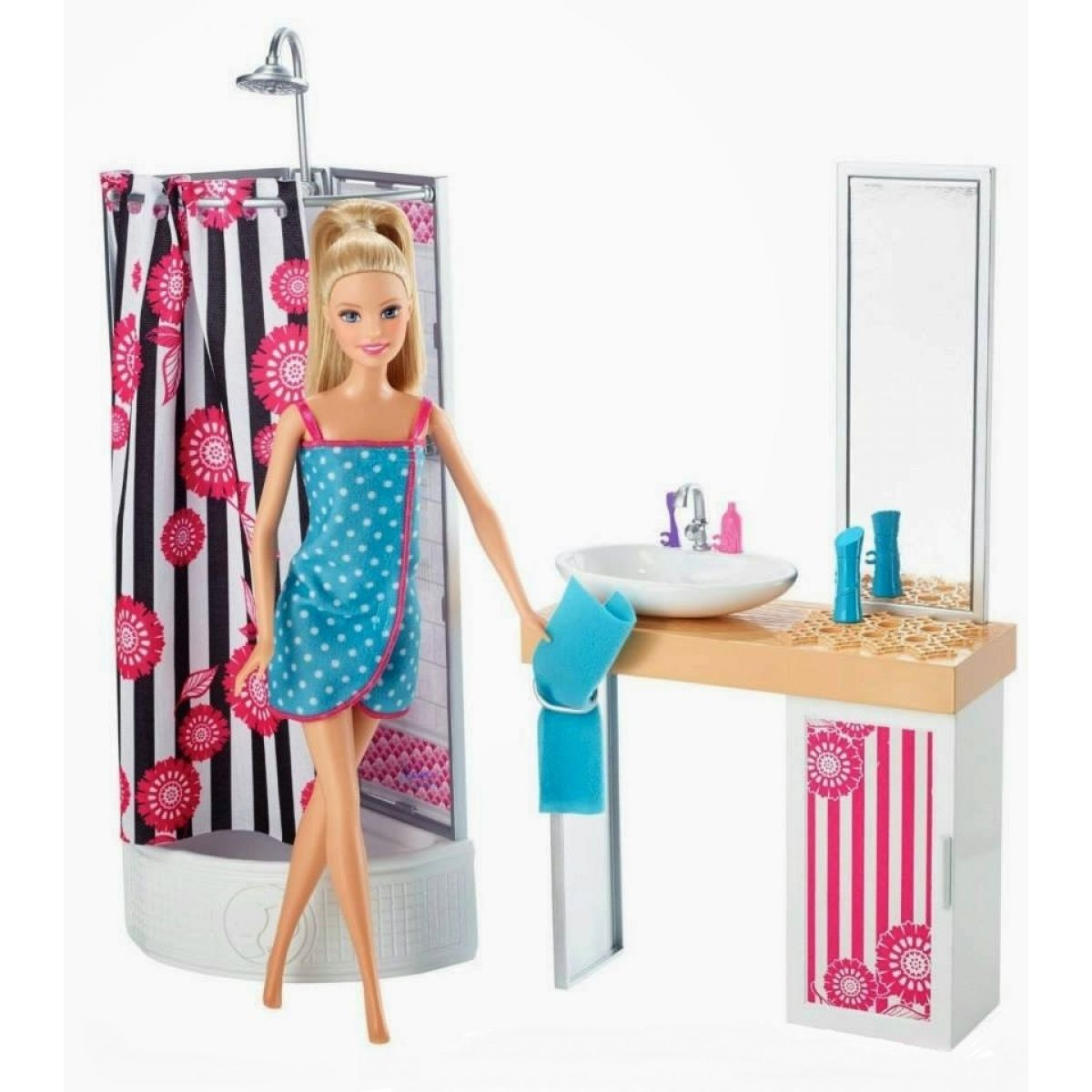 Barbie Panenka a pokojík - Koupelna
