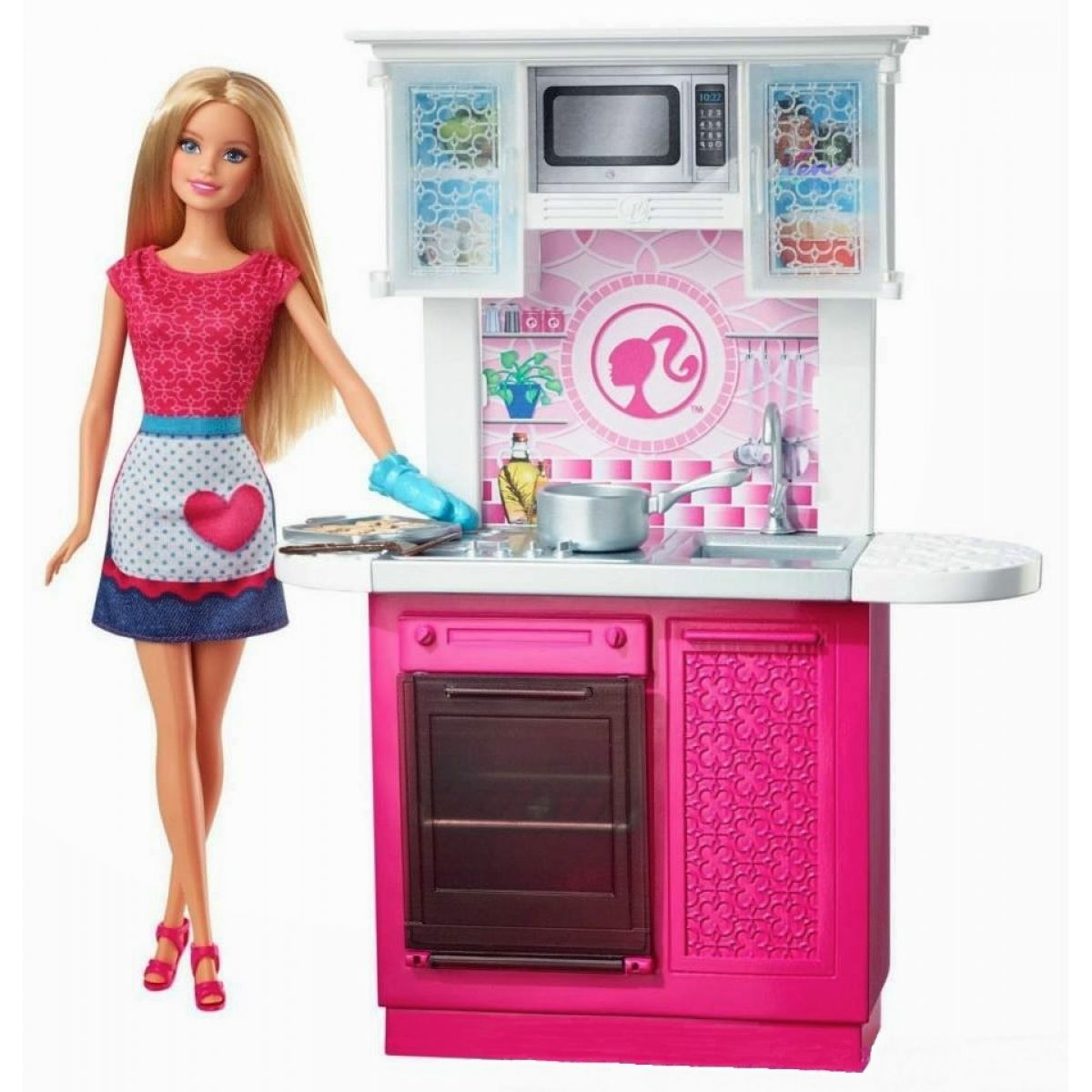 Barbie Panenka a pokojík - Kuchyň