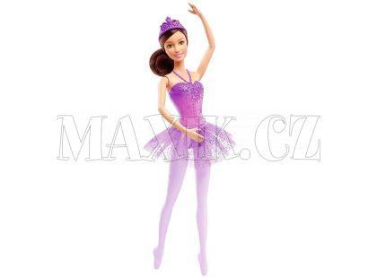 Barbie Panenka balerína - Fialová