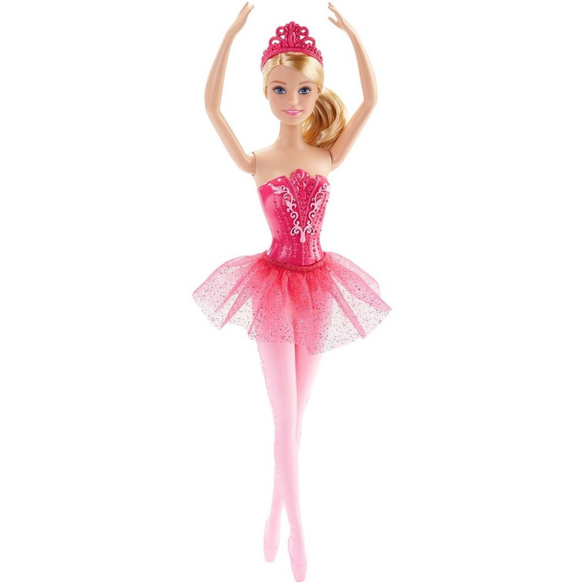 Barbie Panenka balerína - Růžová