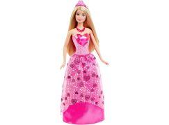 Barbie Panenka princezna - Růžové šaty