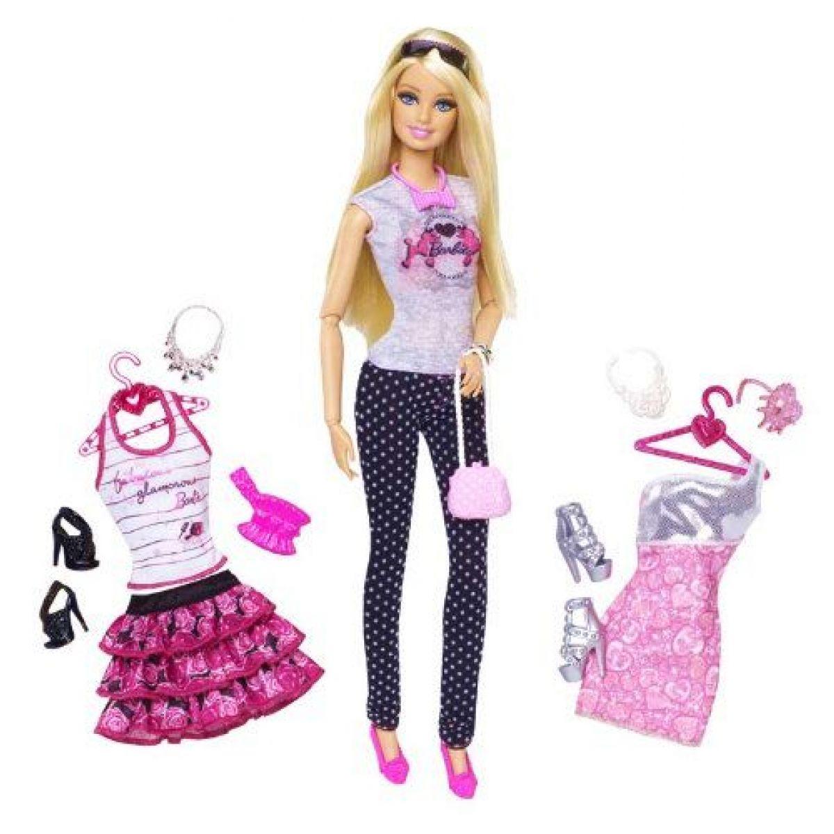 Barbie Panenka se 2 oblečky - Barbie