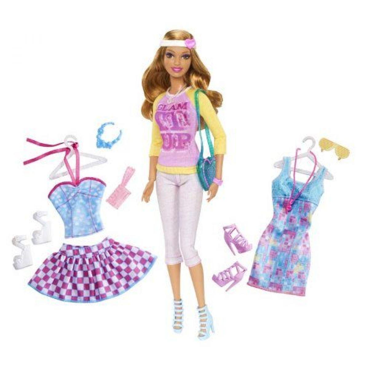Barbie Panenka se 2 oblečky - Summer