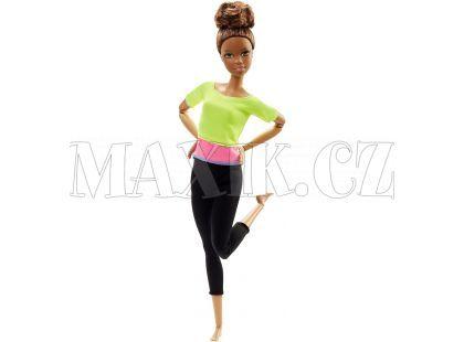 Barbie Panenka v pohybu - Žluté triko