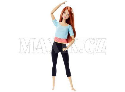 Barbie Panenka v pohybu - Modré triko