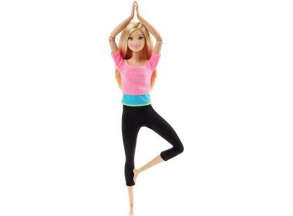 Mattel Barbie Panenka v pohybu - Růžové triko