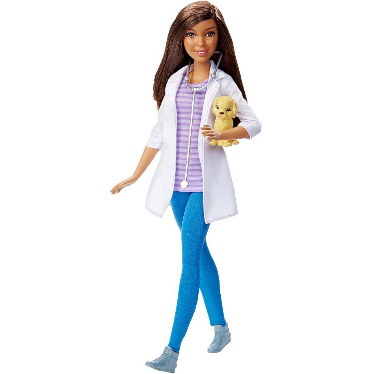 Barbie Panenka v povolání - Veterinářka