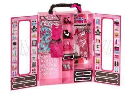 Barbie Přenosná módní šatna