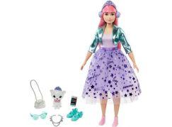 Barbie princezna GML75 fialová sukně