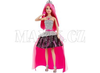 Barbie Rock'n Royals Zpívající princezna