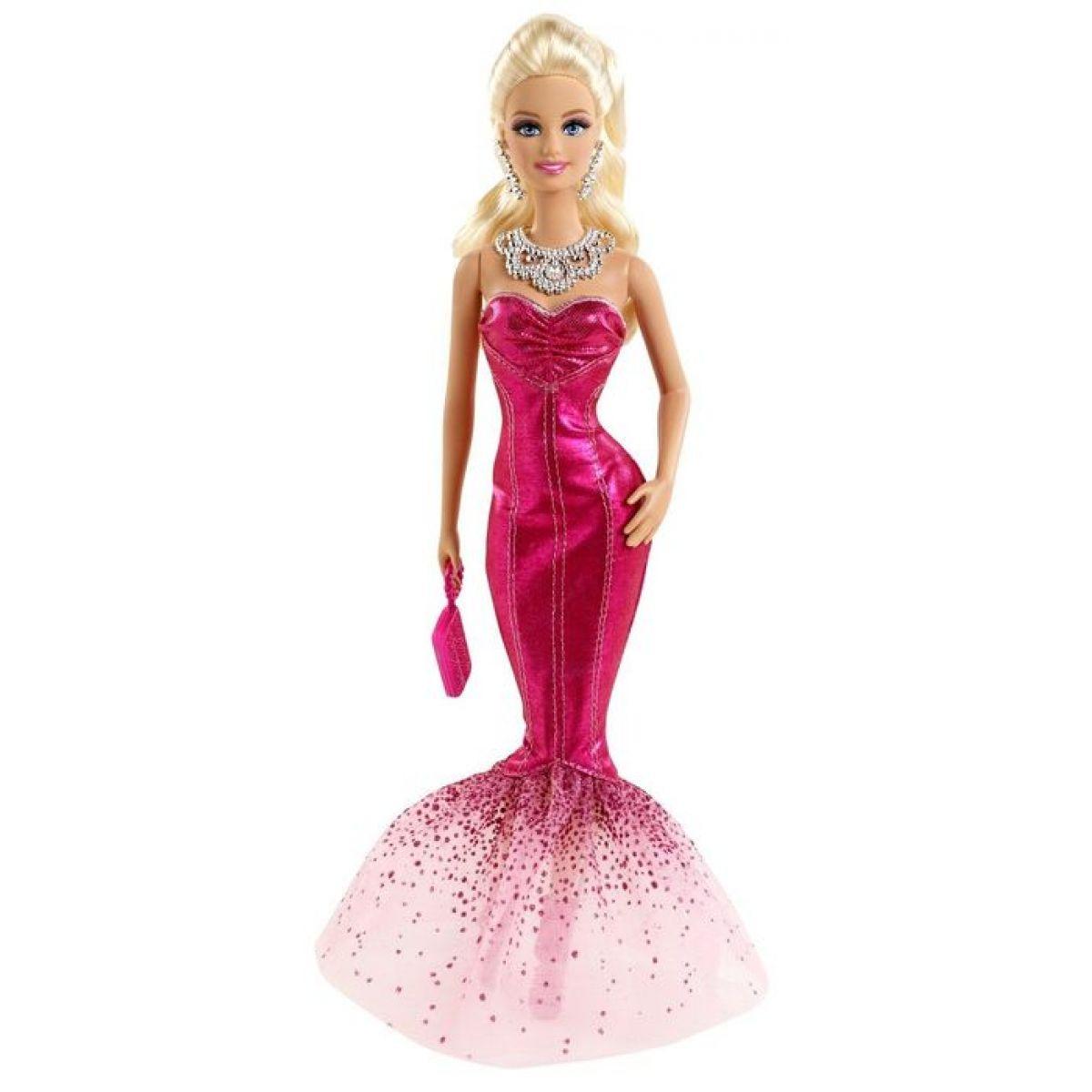 e0f6b75af1bf Barbie Růžová párty - šaty mořská víla