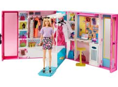 Barbie šatník snů s panenkou