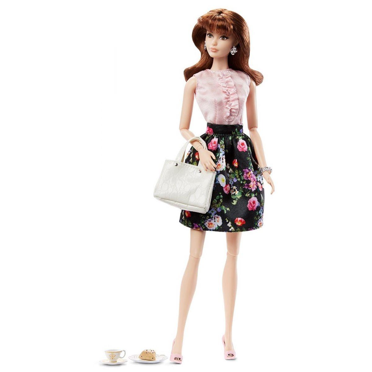Barbie Sběratelská panenka The Look - Kytičkované šaty