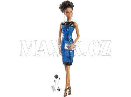 Barbie Sběratelská panenka The Look - Modré šaty