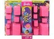 Barbie se zvířátkem color reveal míšenka