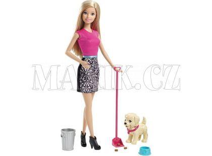 Barbie Set pečujeme o štěňátko
