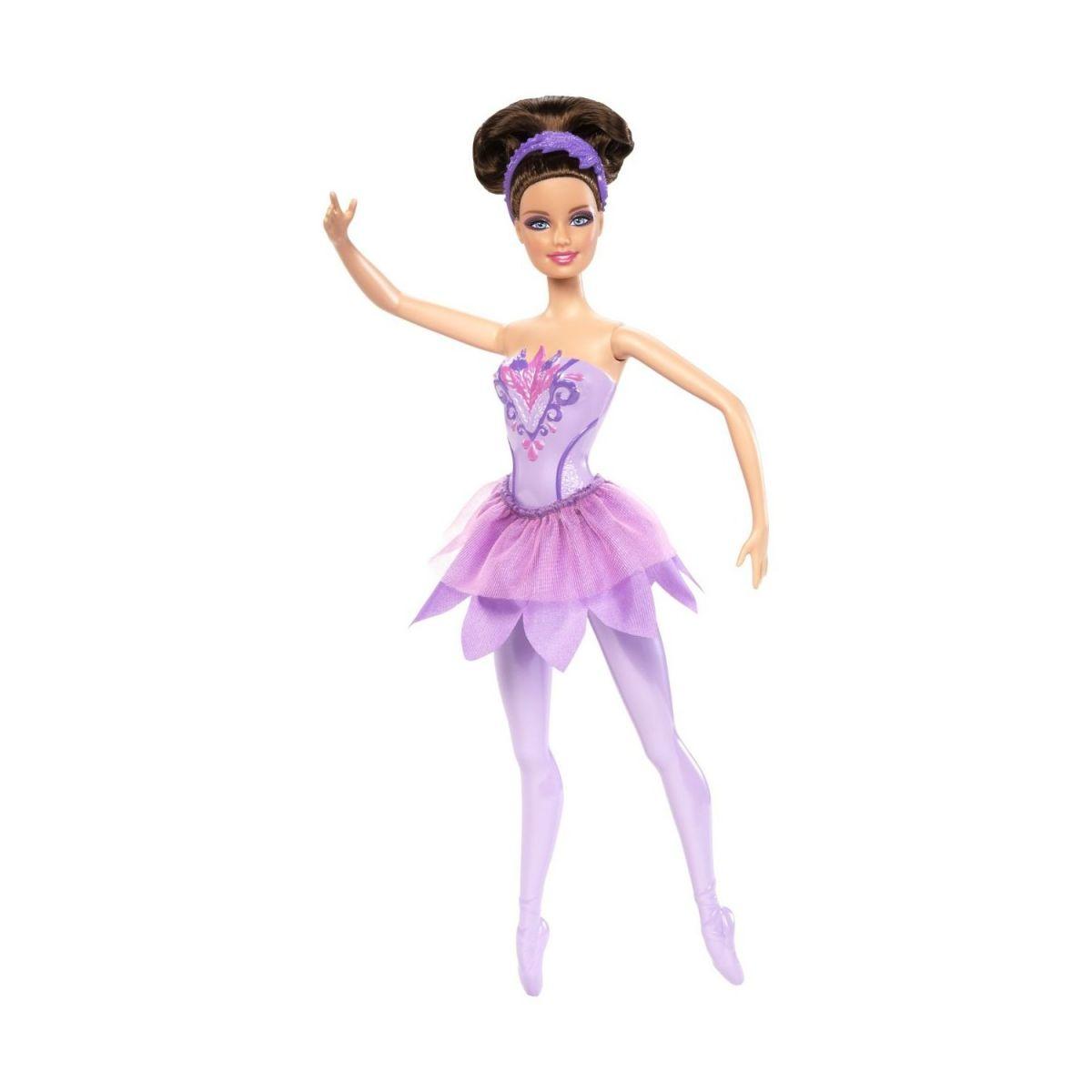 Barbie Studentka baletka - Fialová
