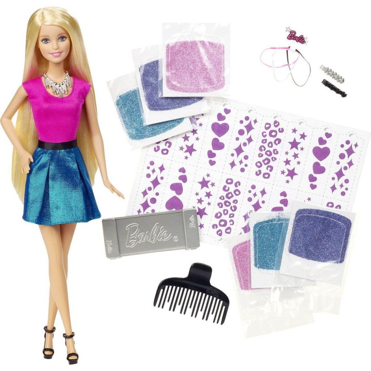 Barbie Třpytivé vlasy