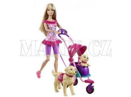 Barbie Venčení domácích mazlíčků Mattel T7197