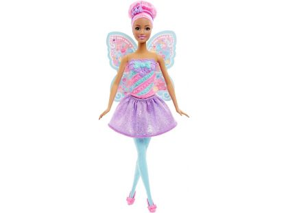Barbie Víla s křídly - Růžové vlasy
