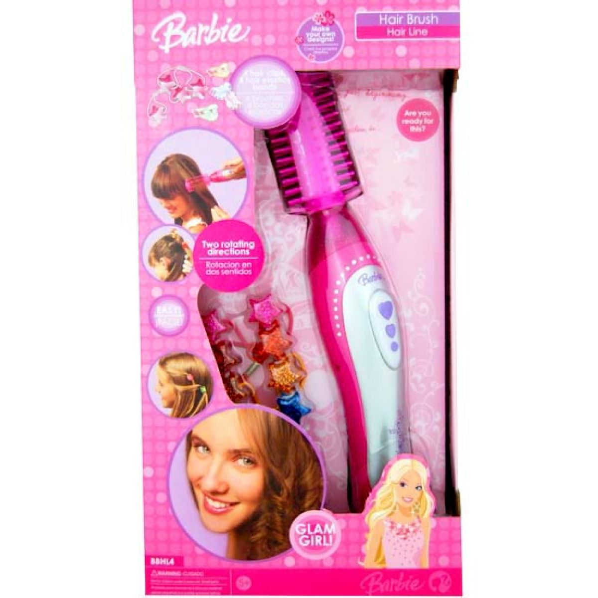 Barbie vlasový hřeben