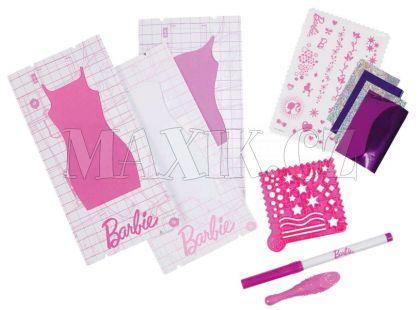 BARBIE W3914 Design studio doplňky - Růžový fix