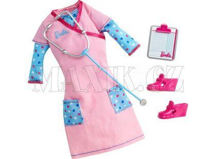 BARBIE Y6786 Pracovní oblečky - Zdravotní sestra