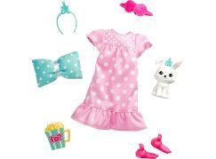 Barbie zvířátko a šaty s doplňky králíček