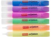 Barvy na textil - sada 6 barev x 10,5 ml