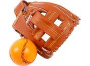 Baseballová rukavice s míčkem 17x21cm