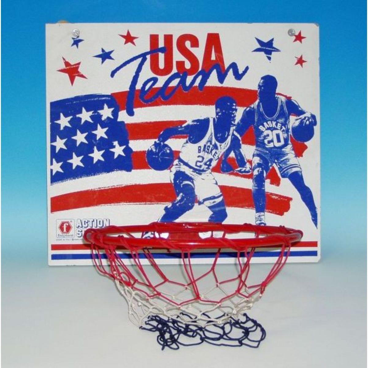 Basketbalová Deska Team USA 50,5x44,5cm