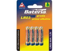 Bateria Slaný CZ Baterie Grada LR03/AAA 1,5V 4ks