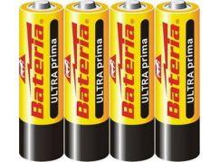 Bateria Slaný CZ Baterie Ultra Prima R6 AA 1,5V 4ks