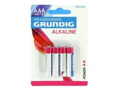 Baterie Grundig LR03 AAA 1,5V Alkaline 4ks