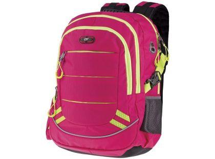 Batoh školní sportovní růžový 837993