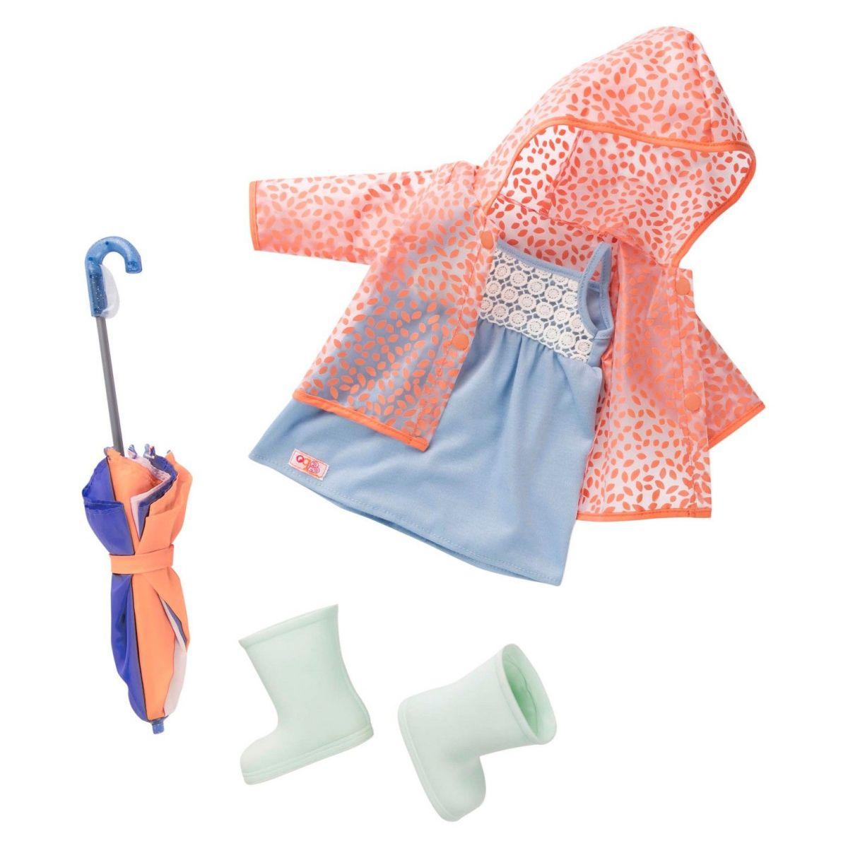 Battat Obleček do deště s deštníkem