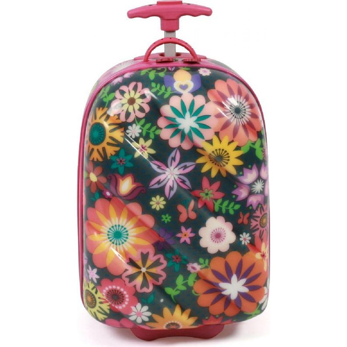 Bayer Chic 39770 Skořepinový kufr s kolečky Kytka