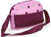 Bayer Chic 85378 Přebalovací taška ke kočárku-růžovo-vínová hvězdička