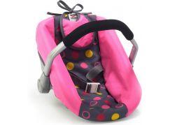 Bayer Chic Autosedačka pro panenky - Funny pink