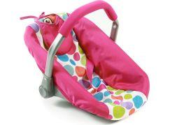 Bayer Chic Autosedačka pro panenky - Pinky Bubbles