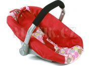 Bayer Chic Autosedačka pro panenky - Ruby Red
