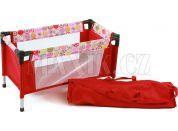 Bayer Chic Cestovní postýlka - Ruby Red