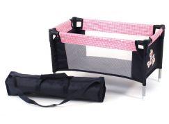 Bayer Chic Cestovní postýlka - pink checker
