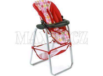 Bayer Chic Jídelní židlička pro panenku - Ruby Red