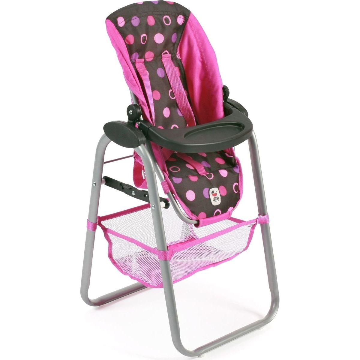 Bayer Chic Jídelní židlička pro panenku - Pinky Balls