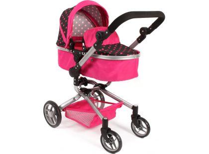 Bayer Chic Kočárek pro panenky Kombi Yolo - Pink
