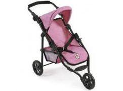 Bayer Chic Kočárek pro panenky Lola - Pink Jeans - Poškozený obal