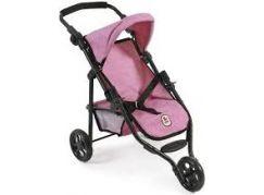 Bayer Chic Kočárek pro panenky Lola - Pink Jeans