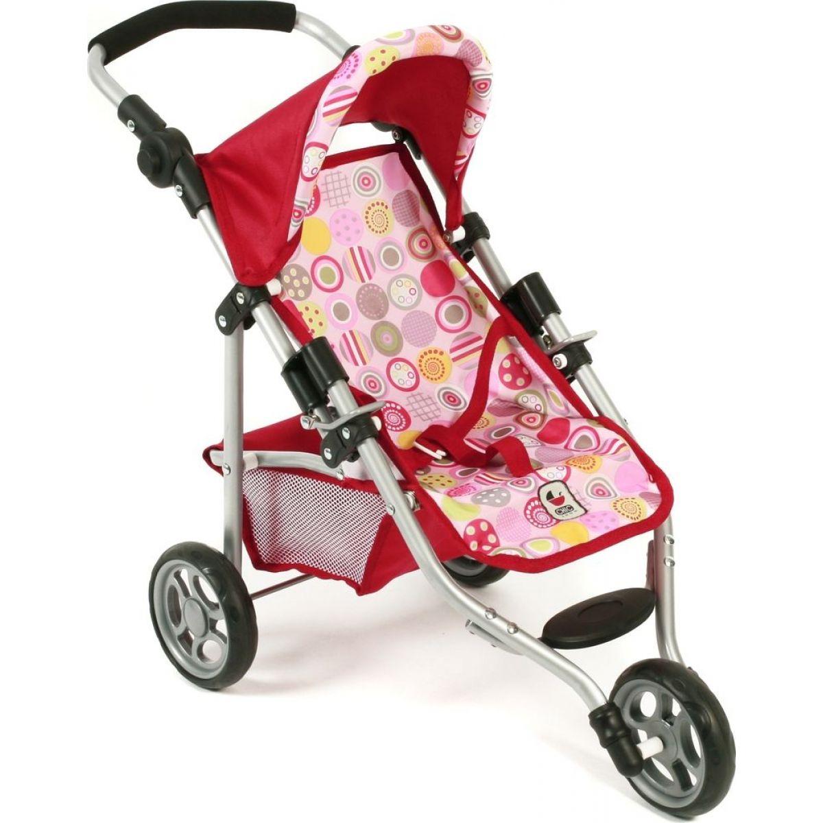 Bayer Chic Kočárek pro panenky Lola - Ruby Red